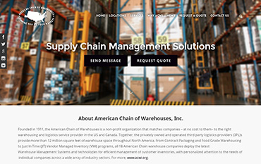 Warehouse-web-design