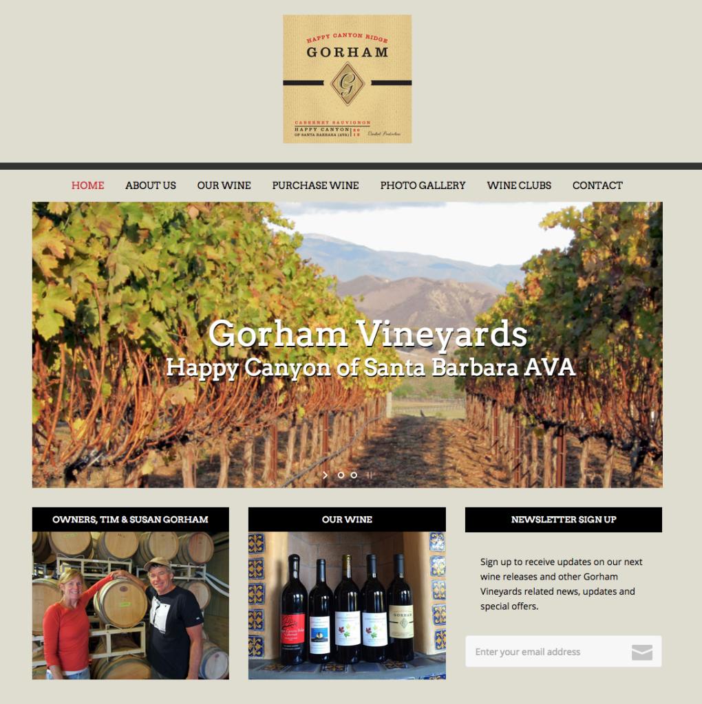 gorham vineyards