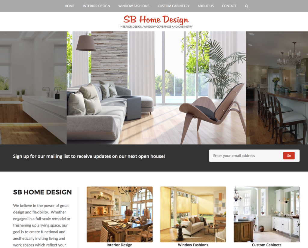 Sb Home Design Dejalane Web Design